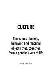 Culture and Society (Week 2).ppt