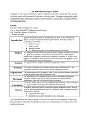 significant leadership experience essay Leadership experience - a personal perceptive essay 1217 words 5 pages effective leadership the purpose of this personal assessment is to devalue an what is evident is the diversity within the business environment, perceptions, choices, and attitudes all play significant roles and contribute to issues within the.