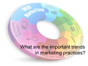 Whar are the important trends in marketing practices