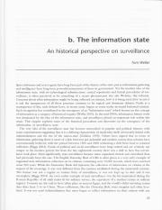 History of Surveillance_Weller_2012