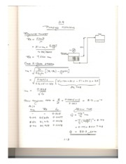 KING FAHD UNIVERSITY CHEMICAL ENGINEERING COURSE NOTES (Fluid Mechanics)-HW4-Q9-Solution