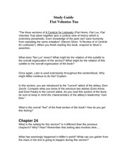 fiat voluntas tua study guide