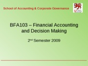 Unit 10 Sources of Finance
