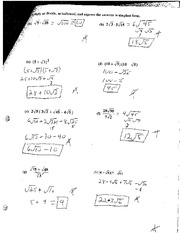Multiplying and Dividing Radicals Quiz
