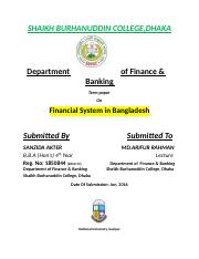 325752849-Financial-System-in-Bangladesh