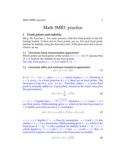 Practice Midterm + Solutions