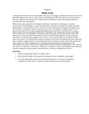 case studies in strategic management doc Strategic management roles of the corporate communication function: are they being played in the government departments - a case study on the department of.