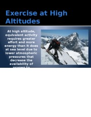 Altitude and Exercise.pptx