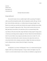 data analysis final paper