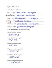 Hydrate Worksheet(1) (2).pdf - Hydrate Worksheet Name the following ...