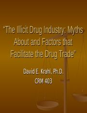 The Illicit Drug Industry.ppt