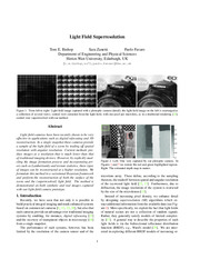 LightFieldSuperresolution