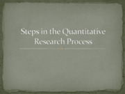 steps research process