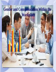 Gender and Communication within the Workplace .pptx
