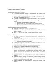 Chapter 2 Outline Environmental.docx