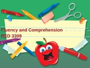 Fluency and Comprehension-RED3309