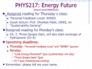 phys217 lecture 4 actual coverage