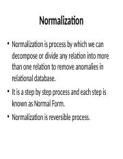 Normalization.ppt