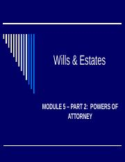 Module 5 Powers of Attorney.ppt