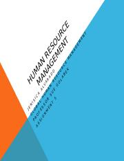 Human RESOURCE MANAGEMENT assignment 5