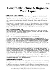 How to Structure and Organize Your Paper.pdf