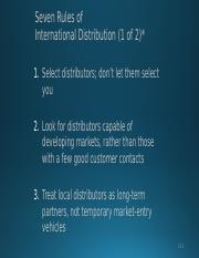 Seven Rules of International Distribution.pptx