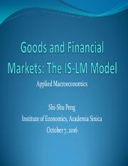 Ch5_Goods and Financial Markets_TheIS-LM Model.pdf