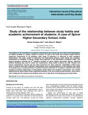 Relationship Between Study Habits and Academic Achievement (Study 2).pdf