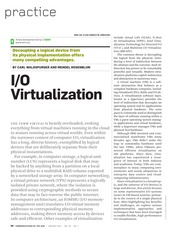 IO-Virtualization