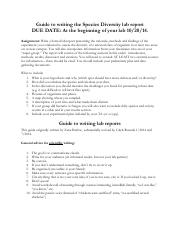 lab report assignment and rubric for diversity lab.pdf
