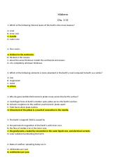 Geology Midterm Ch 1-11 Student (1)