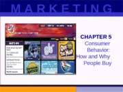chpt 5 marketing