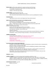 Study Guide for Nervous Endocrine .docx