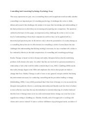 Counselling And Consulting Psychology Psychology Essay.docx