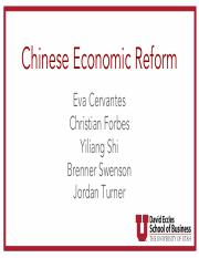2-Group 2_Chinese Economic Reform