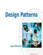 Lecture 4 Patterns.ppt