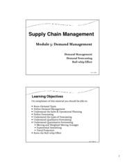 Module3_Demand Management-Class