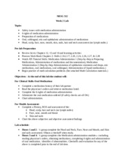 312 Week Two Lab Objectives and outcomes2.docx