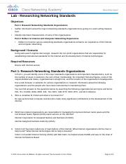 3.2.3.6 Lab - Researching Networking Standards.docx
