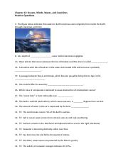 ch12 practice questions