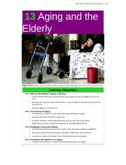 Chapter 13_Aging and the Elderly