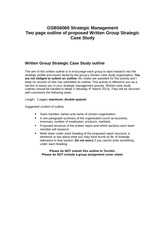 GSBS6060 Two page outline of strategic case study(3)