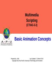 2-Basic Animation Concepts