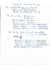 Math 411 Solutions to Chapter 10  Problems
