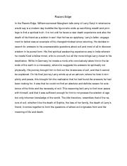 siddhartha and the razors edge essay Transcript of siddhartha and razor's edge step 2 step 3 the way out step 1 full transcript more presentations by jaime kaplan-perico what is the author's central argument untitled prezi untitled prezi more prezis by author popular presentations see more popular or the latest prezis prezi product.