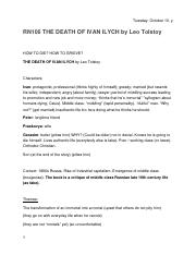 4:21 THE DEATH OF IVAN ILYCH by Leo Tolstoy.docx