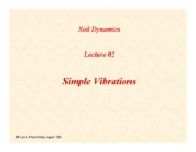 SD-Lecture02-Simple-Vibrations
