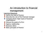 An overview of financial management.aug2014