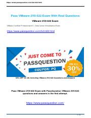Passquestion vmware 2V0-622 real questions.pdf