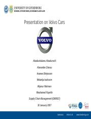 Volvo cars ppt